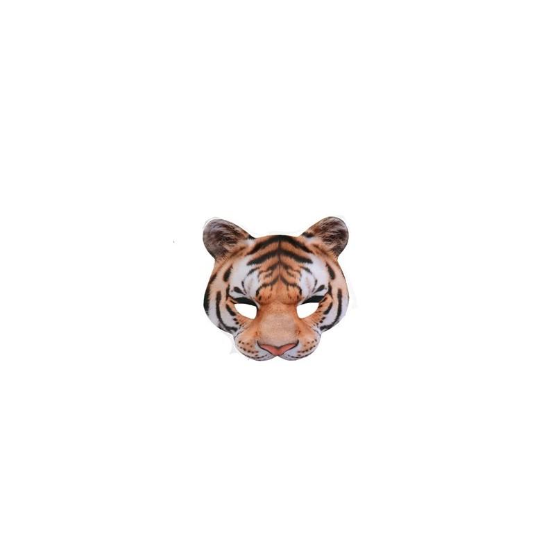 Demi Masque Réaliste Tigre
