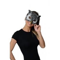 Demi Masque Réaliste Chouette