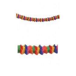 Guirlande Zinnia Multicolore Papier Ignifugé 4,50 Mètres