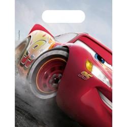 6 Sacs à Cadeaux Cars - Disney