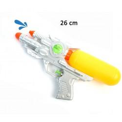 Pistolet à Eau Spatial Argenté 26cm