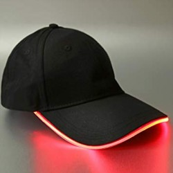 Casquette Lumineuse Led Rouge
