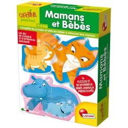 Puzzle D'Association Mamans Et Bébes - Lisciani