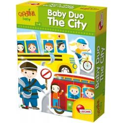 Puzzle Baby Duo La Ville - Lisciani