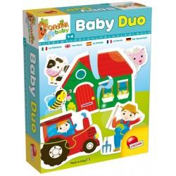 Puzzle Baby Duo La Ferme - Lisciani