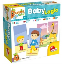 Puzzle D'Association Baby Logic - Lisciani