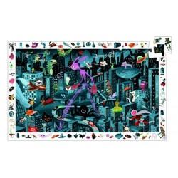 Puzzle d'observation - Night City 200 pièces
