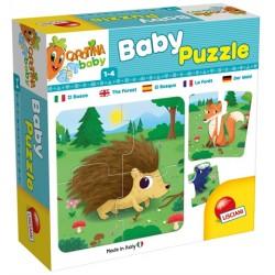 Baby Puzzle La Foret - Lisciani