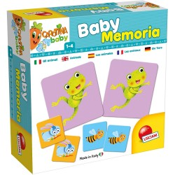 Baby Memory Les Animaux - Lisciani