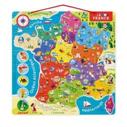 Puzzle Magnétique Les Régions de France - Janod
