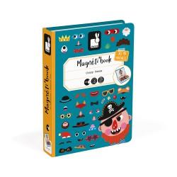 MagnetiBook Crazy Faces Garçon - Janod