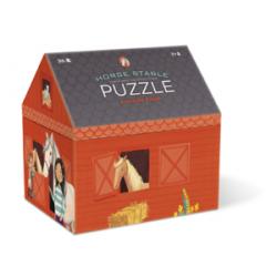 Puzzle maison - Les chevaux 36 pièces