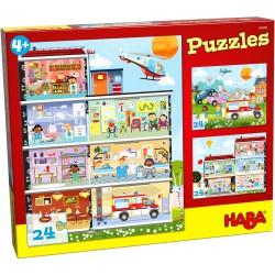Puzzles Mon Petit Hopital 24 Pièces - Haba
