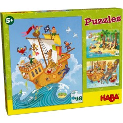 Puzzles Pirates 48 Pièces - Haba