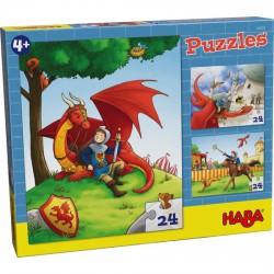Puzzles Chevalier 24 Pièces - Haba