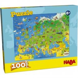 Puzzle Les Pays D'Europe 100 Pièces - Haba