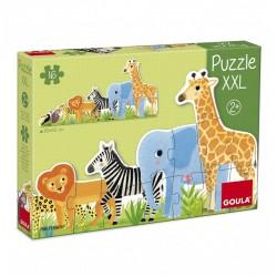 Puzzle Frise XXL Les Animaux - Goula