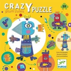 Crazy Puzzle Plum'zules - Djeco