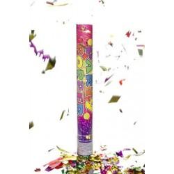 Canon à Confettis Multicolores 80cm