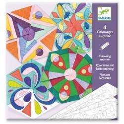 Coloriages Surprise Mandalas Rosaces - Djeco