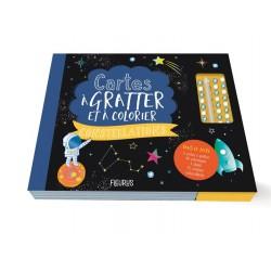 Cartes à Gratter Et à Colorier Constellations - Fleurus
