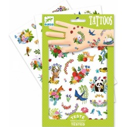 Tatouages Happy Spring - Djeco DJ09591