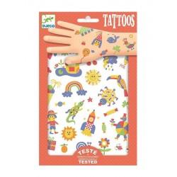 Tatouages So Cute - Djeco DJ09589