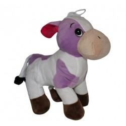 Peluche Vache Violette