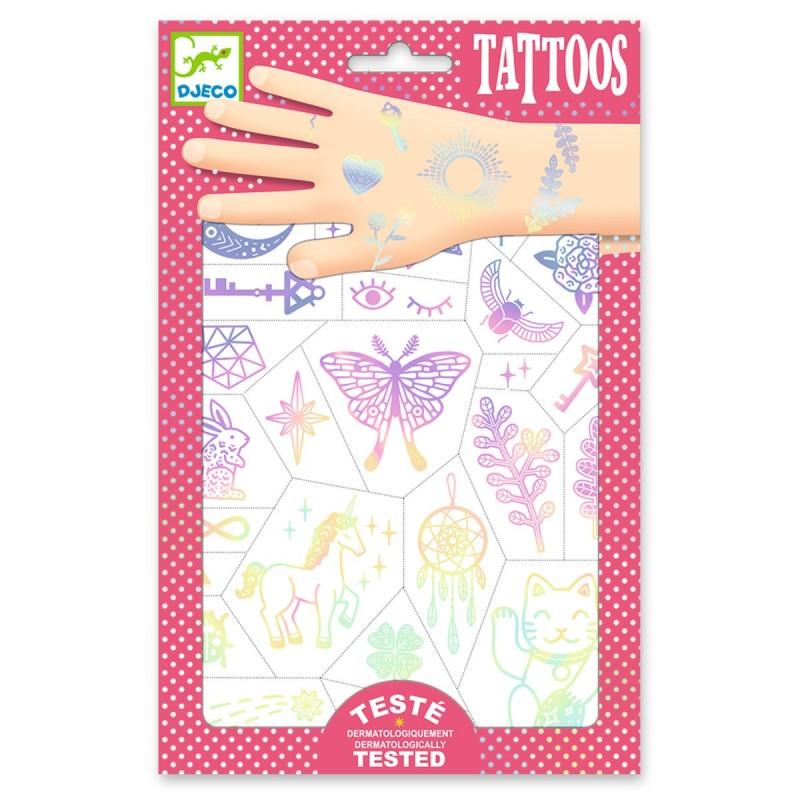 Tatouages Happy Lucky Charms - Djeco - Dj09596