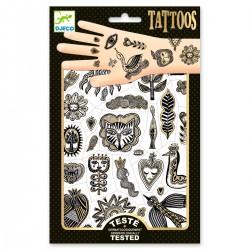 Tatouages Happy Golden Chic - Djeco  - dj09595