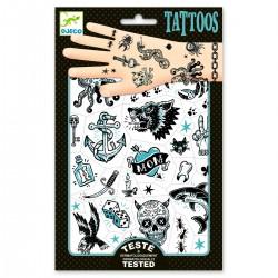 Tatouages Dark Side - Djeco - Dj09594