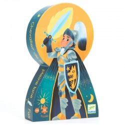 Puzzle Silhouette Le Chevalier De La Pleine Lune 36 Pièces - Djeco