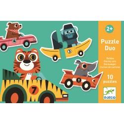 Puzzle Duo Les Animaux - Djeco