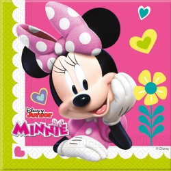 Serviettes en Papier Minnie