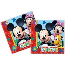 Serviettes en Papier Mickey
