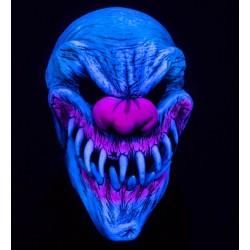 Masque Latex Evil Clown UV...