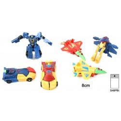 Robot Transformable 8 cm
