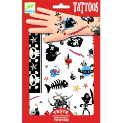 Tatouages Pirates - Djeco