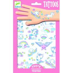 Tatouages Licornes - Djeco DJ09575