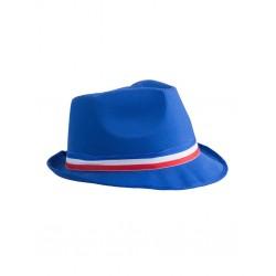 Chapeau Borsalino Bleu avec Bandeau France