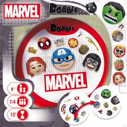 Jeu de Cartes Dobble Marvel Emoji - Asmodée