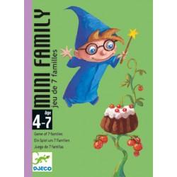 DJ05101 - Jeu de Cartes Mini family - Djeco