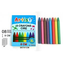 Crayons de Cire 8 Pièces