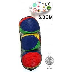 Balle à Jongler Skai 6,3 cm  x 3 cm