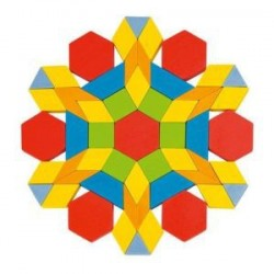 Jeu de Puzzle Formes Géométriques - Goki