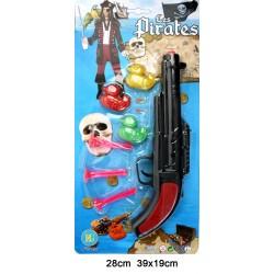 Pistolet à Flèches Pirate avec Canards