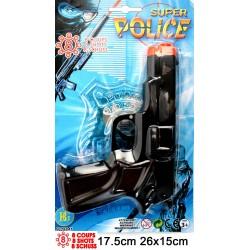 Pistolet Bruiteur 8 Coups