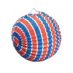 Lampion Ballon 25 cm Multicolore x12