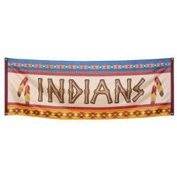 Bannière Drapeau Indien