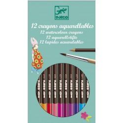 Crayons de Couleur 12 Pièces - Djeco